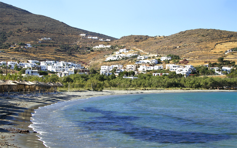 Island Hopping from Andros to Tinos Island: Agios Ioannis Porto