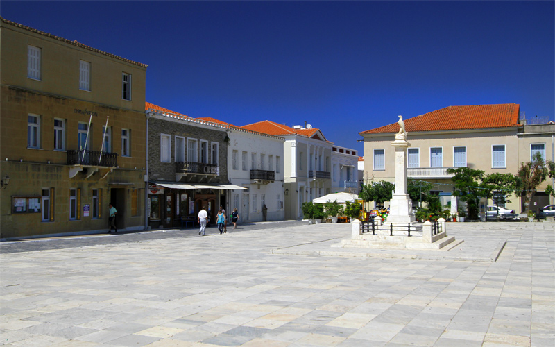 Best villages in Andros: Chora