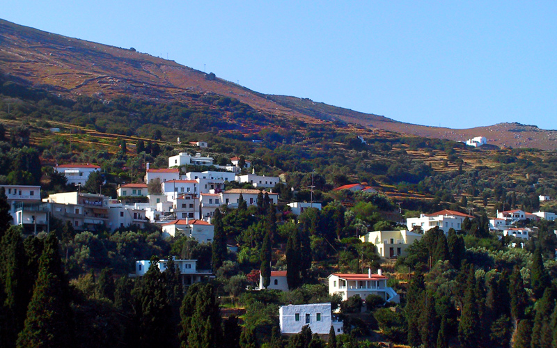 Best villages in Andros: Menites
