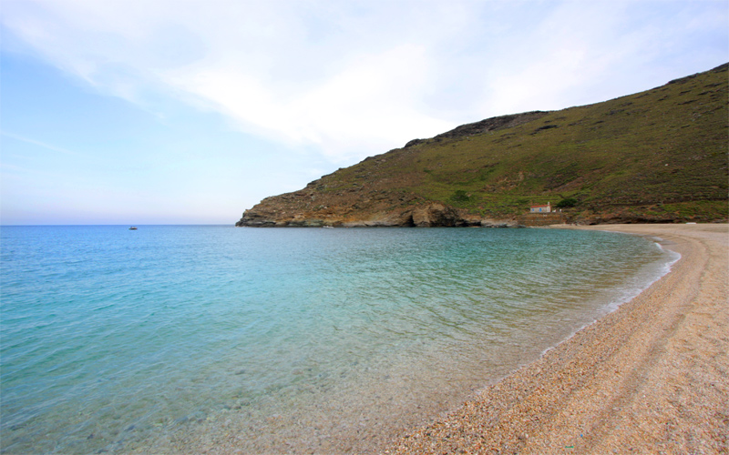 Secluded Beaches in Andros: Achla