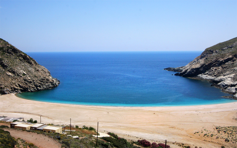Secluded Beaches in Andros: Zorkos