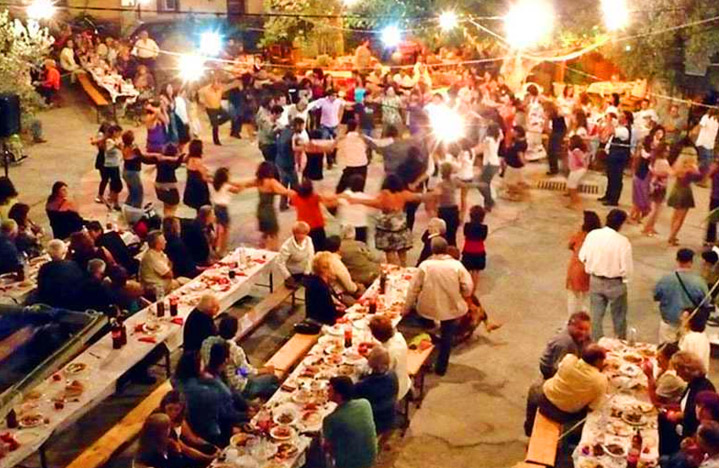 Festivals in Andros island Greece